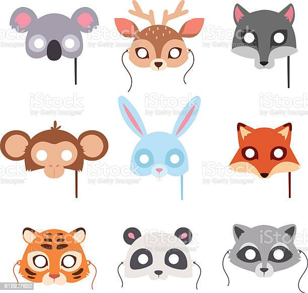 Cartoon animal party mask vector vector id615927652?b=1&k=6&m=615927652&s=612x612&h=ehbz 9bgl hx9uucmxo2bcxz6mrv4lh1mb cn jl7d4=
