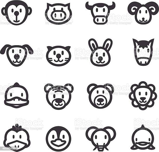Cartoon animals icons acme series vector id465864981?b=1&k=6&m=465864981&s=612x612&h=lmkzbz04wq hxylr fgpzzyotp5xg6vz7lsjnxlkray=