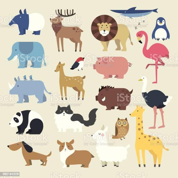 Cartoon animals set vector id585164328?b=1&k=6&m=585164328&s=612x612&h= ozpwrou0l2hkeywodfyvpny92wiklgmgrn3pp4jaes=