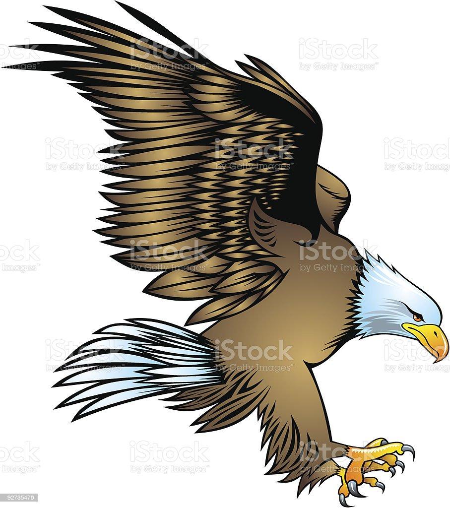 eagle Lizenzfreies eagle stock vektor art und mehr bilder von adler