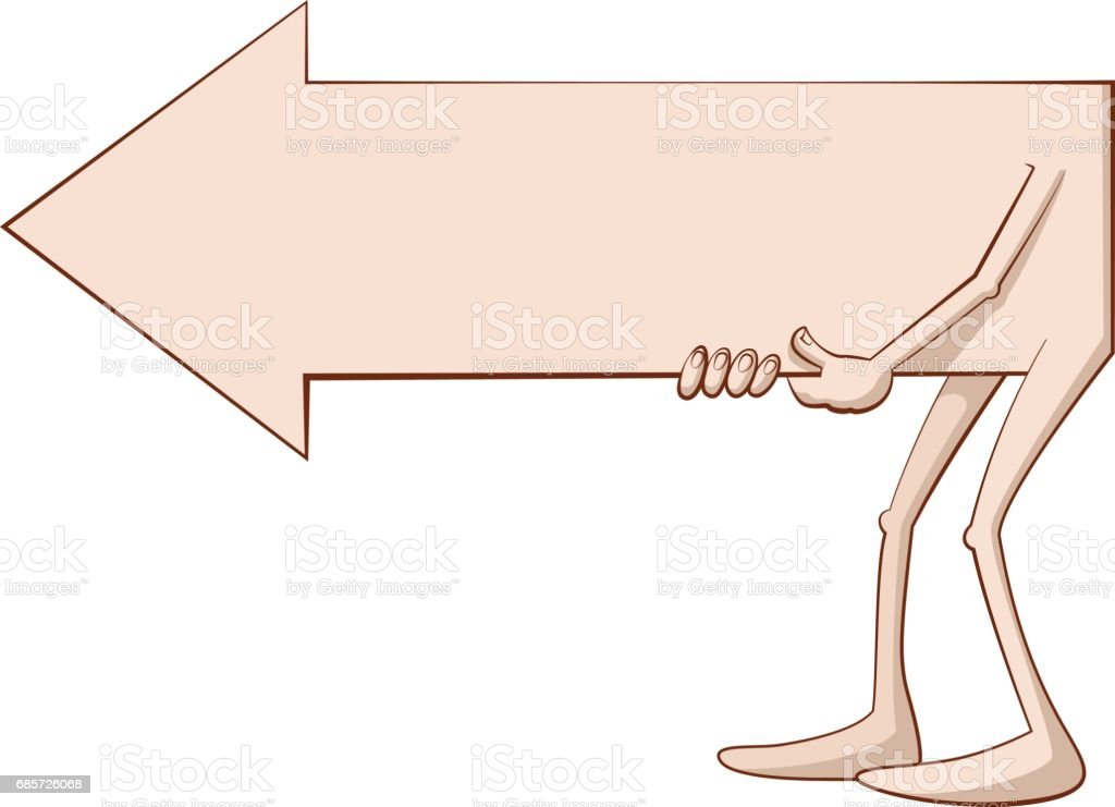 cartoon  arrow character royalty-free cartoon arrow character 0명에 대한 스톡 벡터 아트 및 기타 이미지