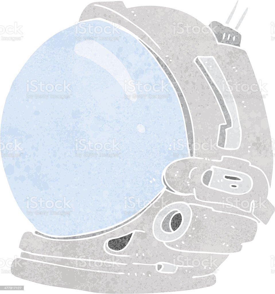 мультяшный шлем космонавта стоковая векторная графика и другие
