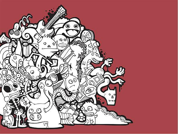 comic hintergrund - kindersprüche stock-grafiken, -clipart, -cartoons und -symbole