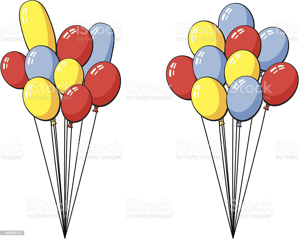 Cartoon Balloons Stock Illustration Download Image Now Istock