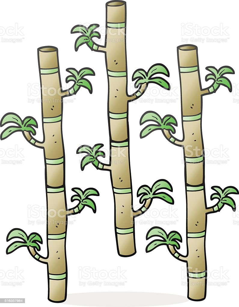 Comic Bambus Stock Vektor Art Und Mehr Bilder Von Bizarr 516357984