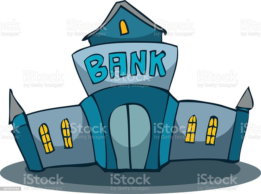 Cartoon Bank Stock Vector Art & More Images Of Abstract