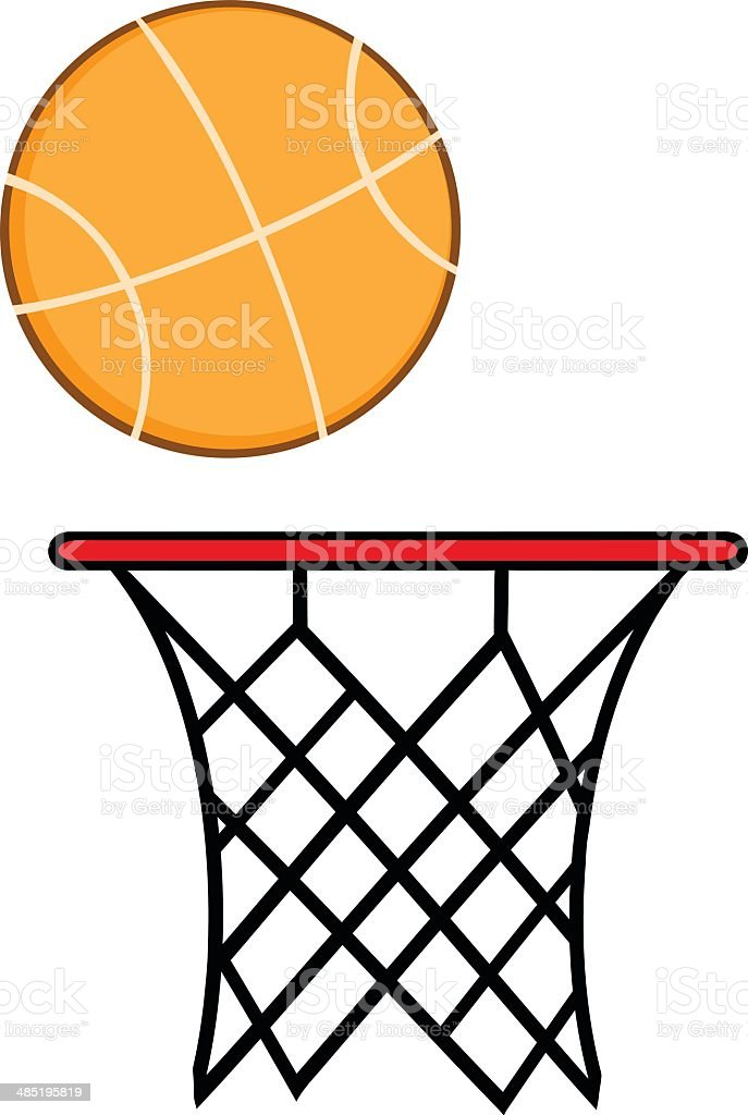 how to put on a basketball net