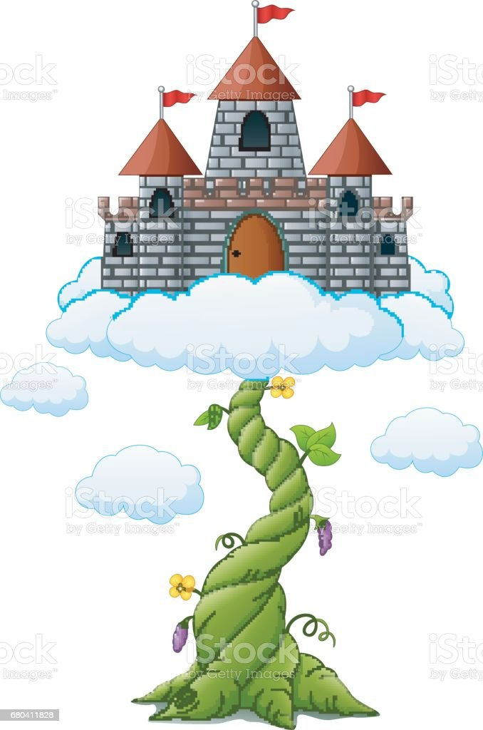 royalty free jack and the beanstalk clip art vector images rh istockphoto com beanstalk leaves clipart beanstalk leaves clipart
