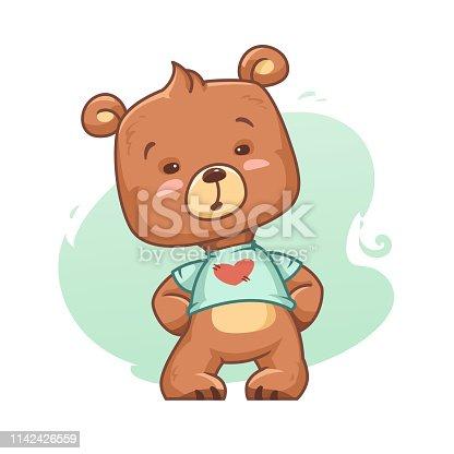 Cartoon Bear Cub
