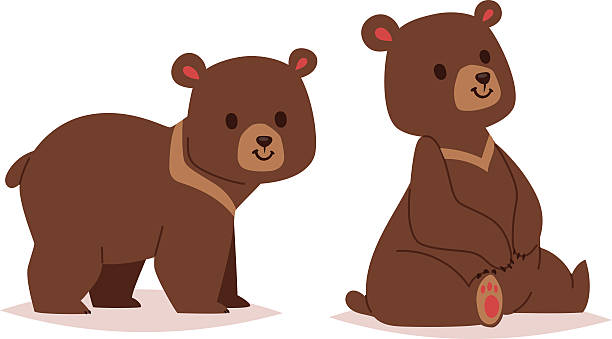 Best Bear Cub Illustrations, Royalty-Free Vector Graphics ...