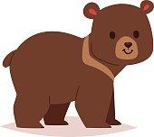 Cartoon bear vector haracter