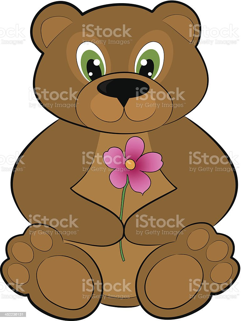 cartoon bear royalty-free stock vector art