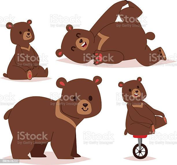 Cartoon bear vector set vector id592678202?b=1&k=6&m=592678202&s=612x612&h=i18mcrmf46h6xpcigrqjrmxwvuxikaqormf1zkgir6w=