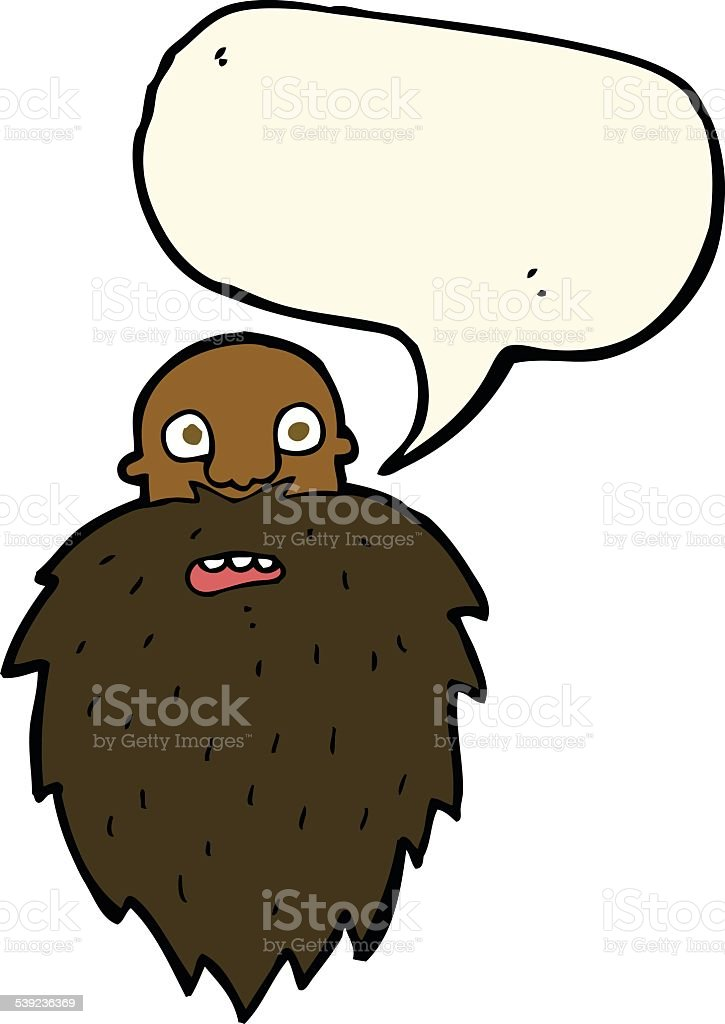 cartoon bearded man with speech bubble royalty-free cartoon bearded man with speech bubble stock vector art & more images of adult