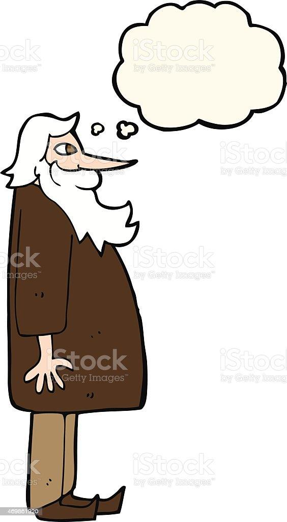 Old Man With A Beard Clipart | Beard Style Corner