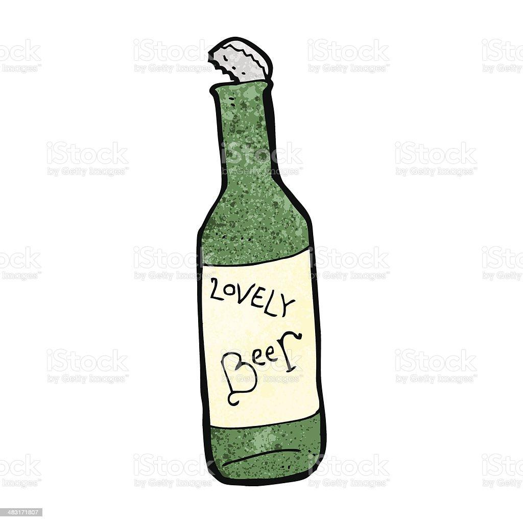 Comic bierflasche stock vektor art und mehr bilder von for Boden cartoon