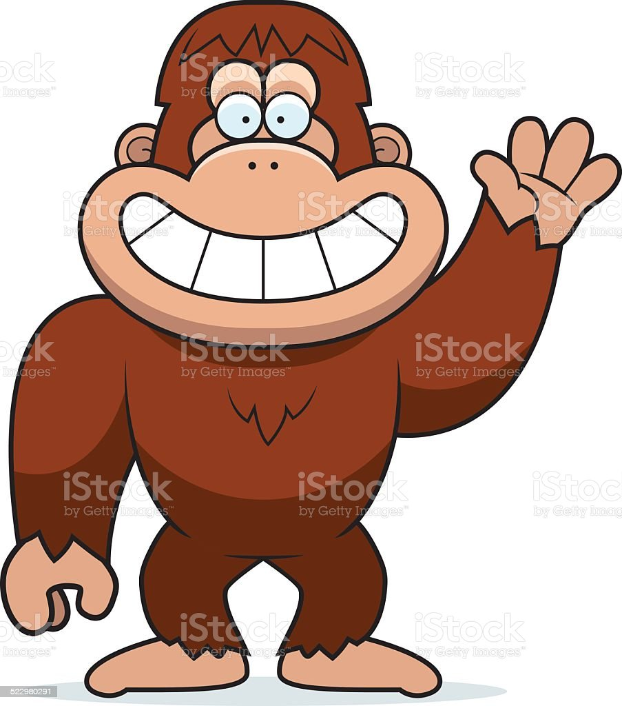 royalty free bigfoot clip art clip art vector images rh istockphoto com