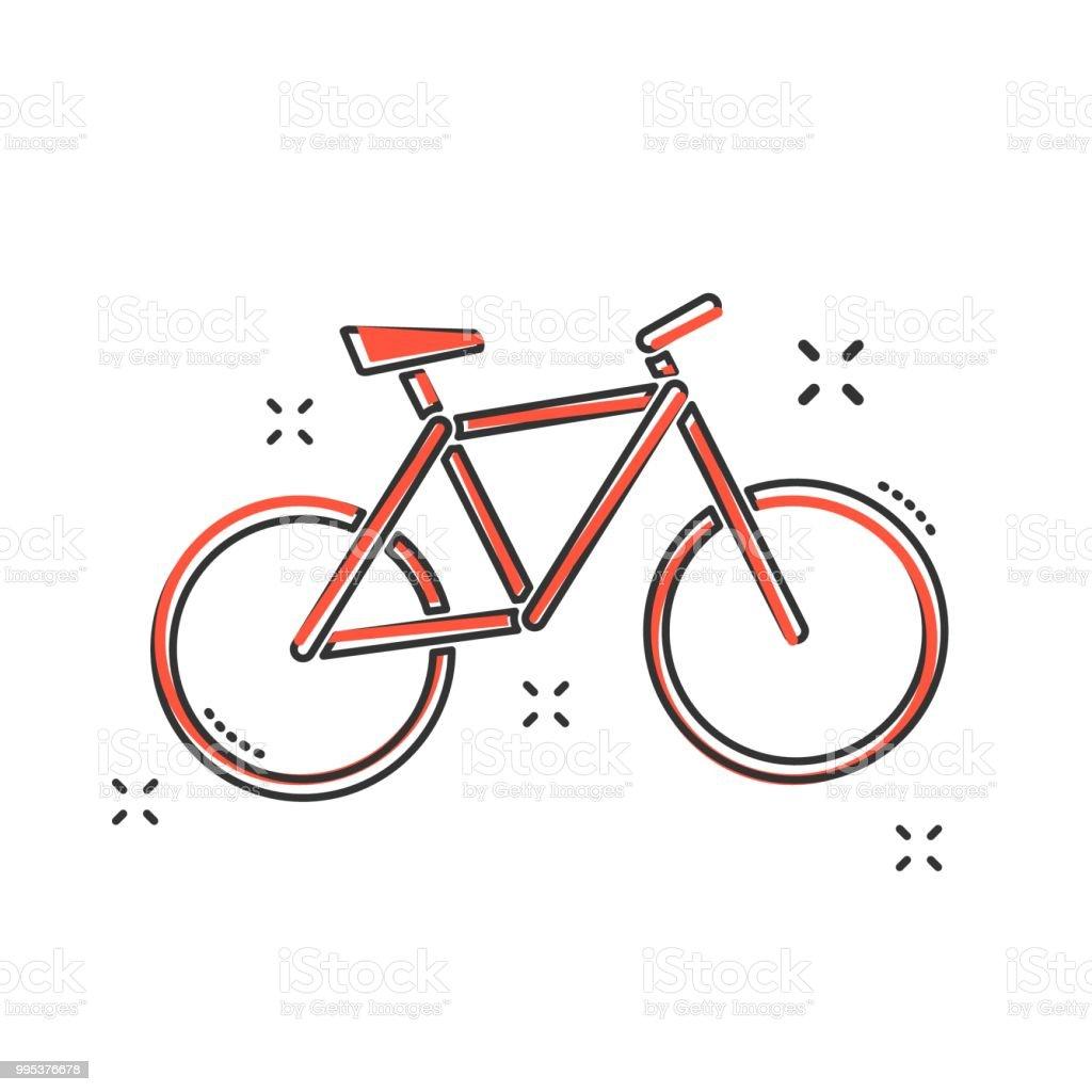 749de8186 Ícone de moto de desenho animado no estilo cômico. Pictograma de ilustração  de sinal da