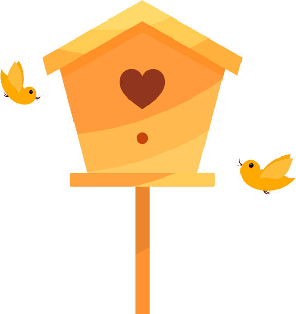 Royalty Free Birdhouse Birds Nest Animal Nest Box ...