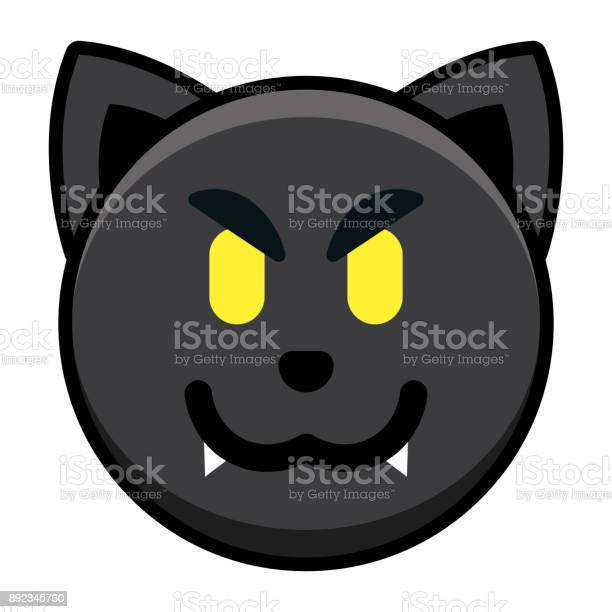 Cartoon black cat emoji isolated on white background vector id892345760?b=1&k=6&m=892345760&s=612x612&h=ku8ckjmvqqtfdiocqrxcmvc5wny6oz9lp18lt 8iai8=