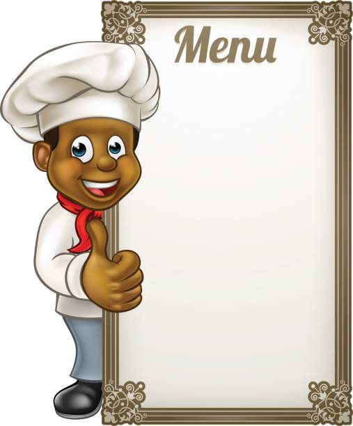 Best Kitchen Illustrations Royalty Free Vector Graphics: Best African American Chef Illustrations, Royalty-Free