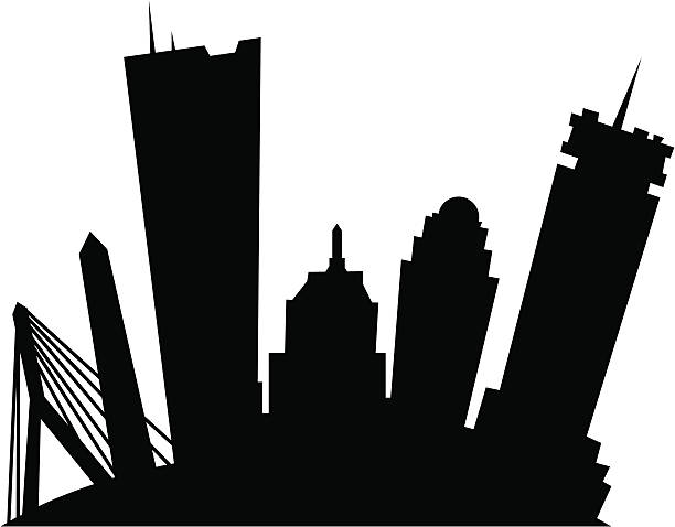 Royalty Free Prudential Tower Clip Art Vector Images