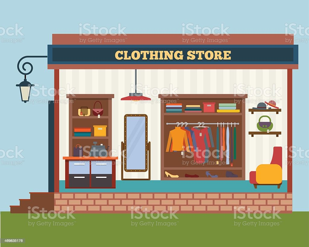 Bricks clothing store