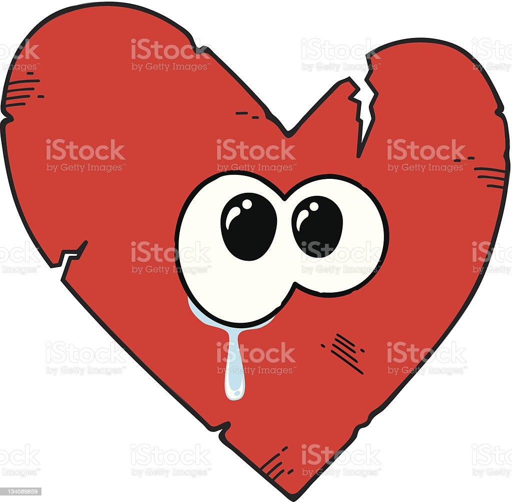 Dessin De Coeur Brisé Pleurer Cliparts Vectoriels Et Plus D Images