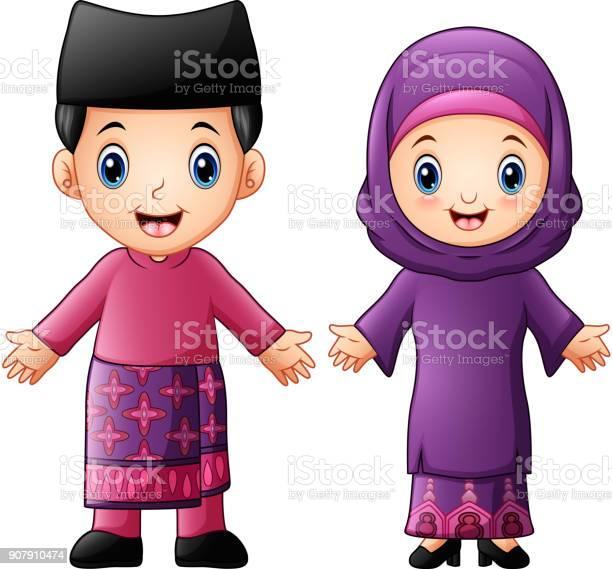 Muslim Wedding Vector Art Graphics Freevectorcom