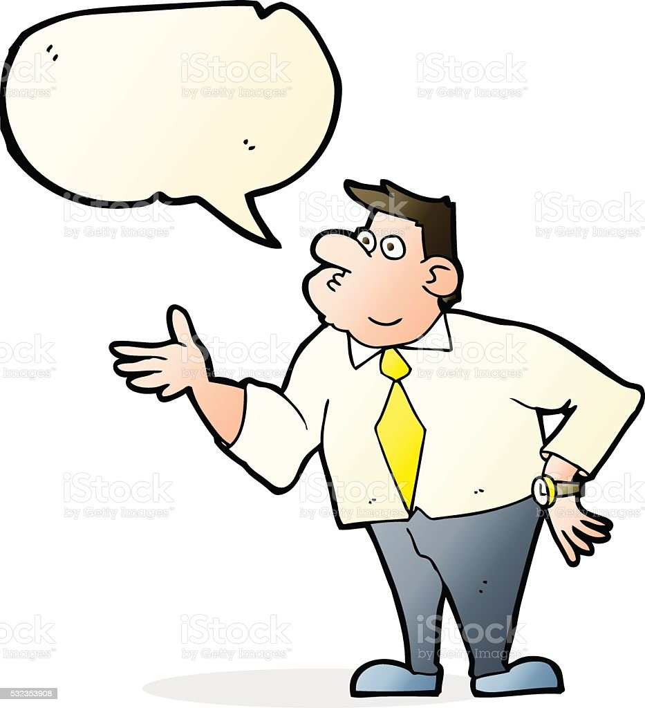 Cartoon Businessman As...