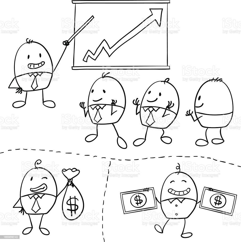 Cartoon businessman illustration royalty-free cartoon businessman illustration stock vector art & more images of adult