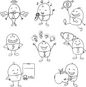 Cartoon businessman illustration