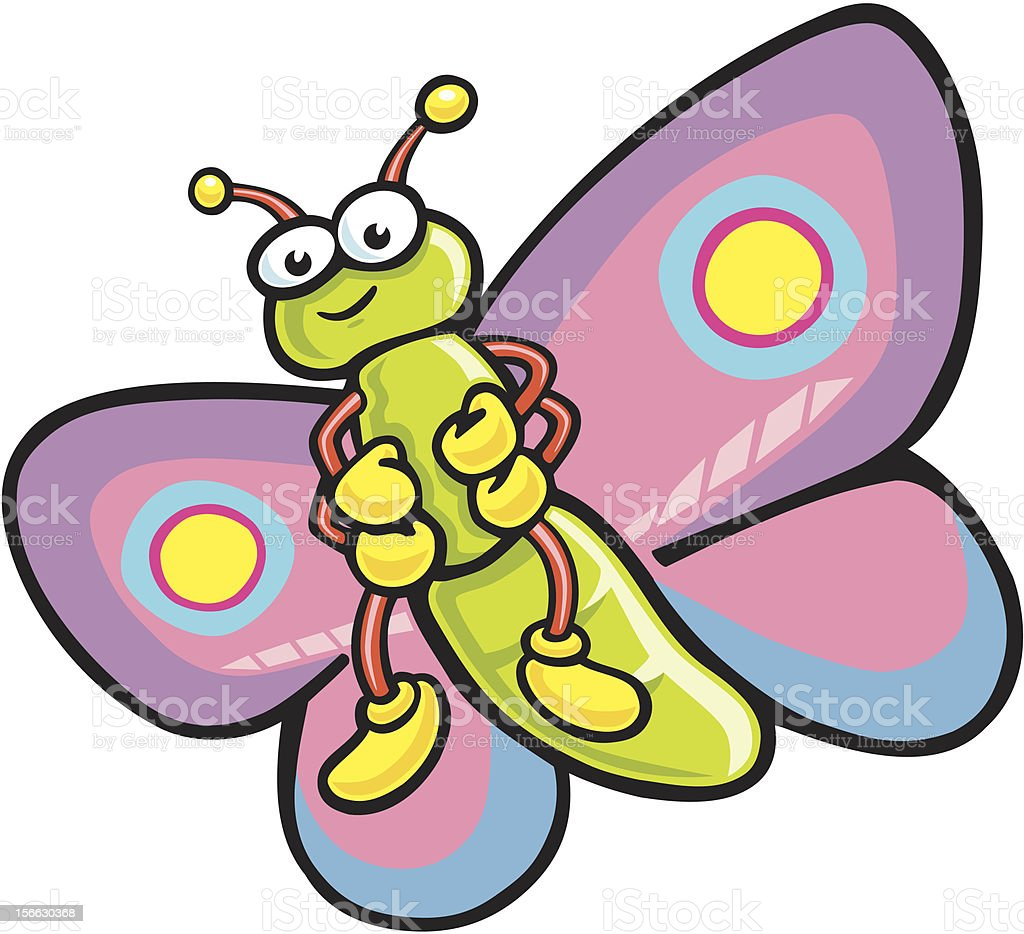 cartoon butterfly stock vector art 156630368 istock