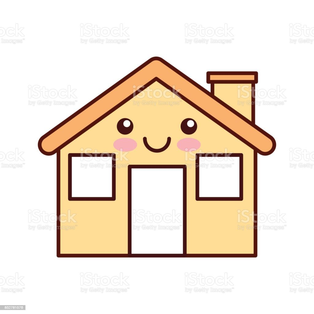 Cartoon Cabin House Chimney Comic Stock Illustration Download Image Now Istock