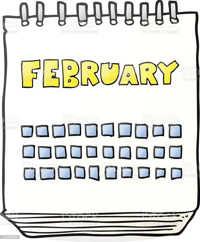 February Clip Art Illustrations - Clipart Guide