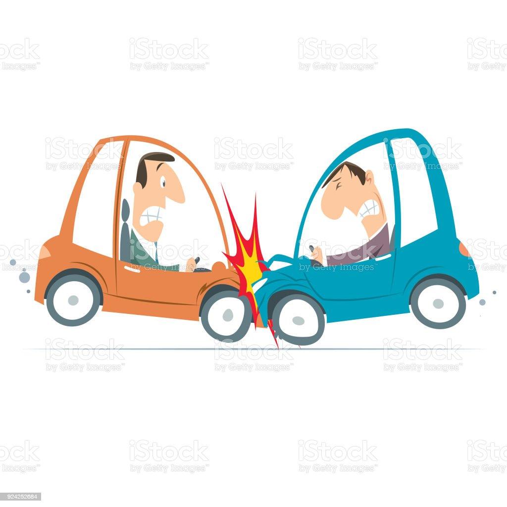 royalty free car accident scene clip art vector images rh istockphoto com car crash animated clipart car crash clipart black and white