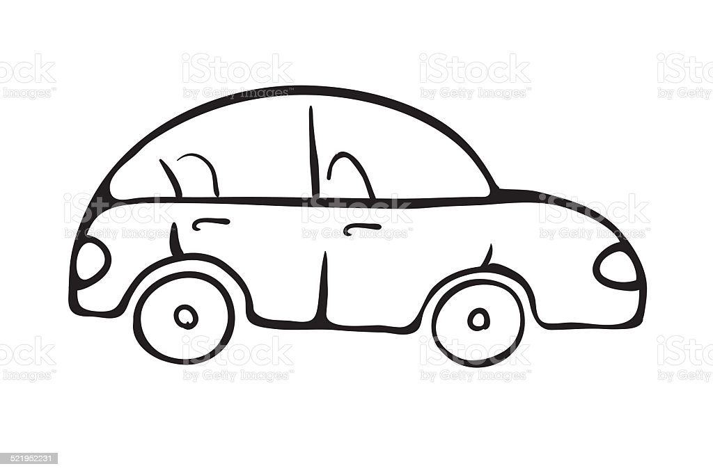 Cartoon Car Sketch Vector Illustration Gm521952231 51044878 on muscle car drawings