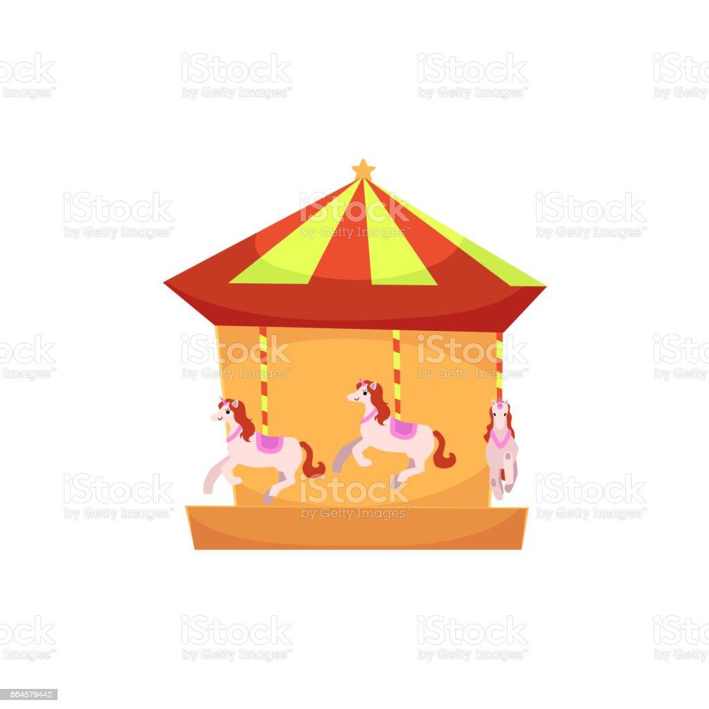 Carrousel Dessin tour de manège rond point dessin animé carrousel – cliparts