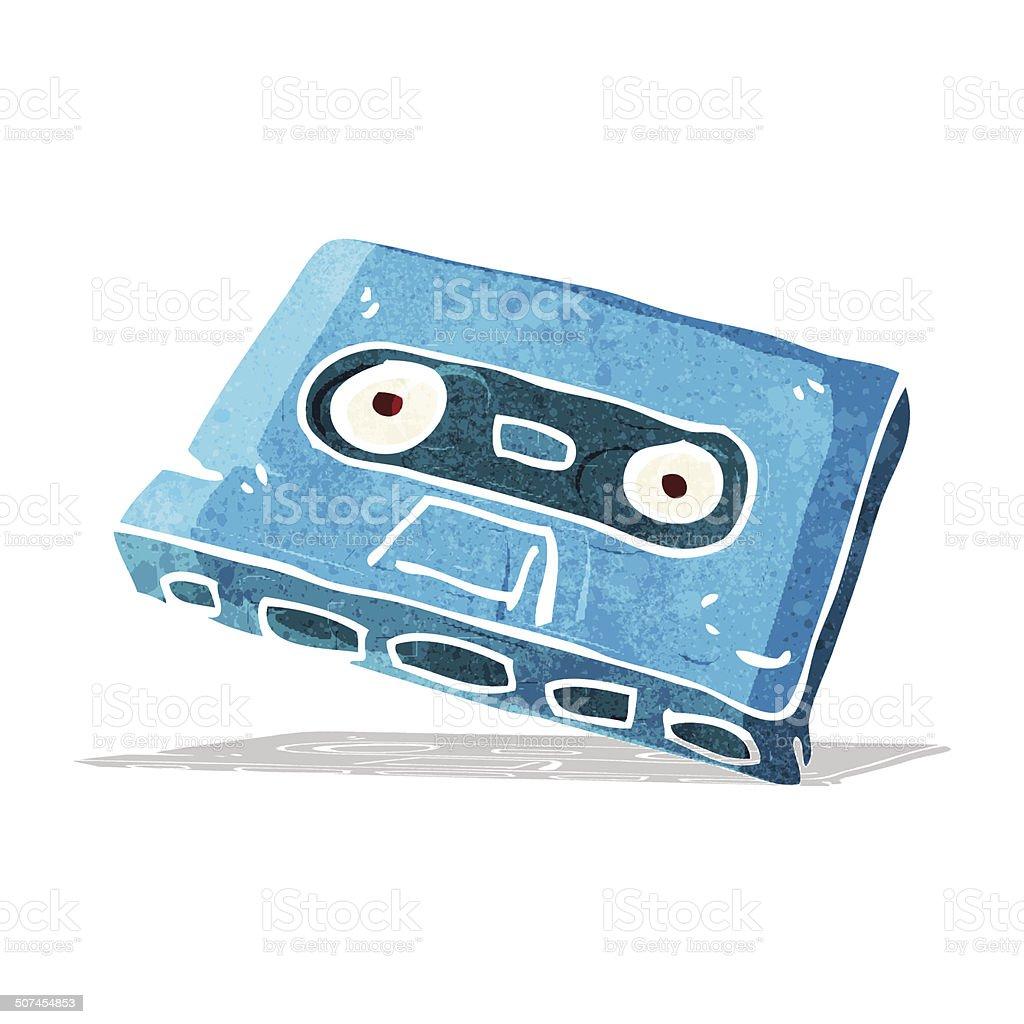 カットイラストカセットテープ いたずら書きのベクターアート素材や