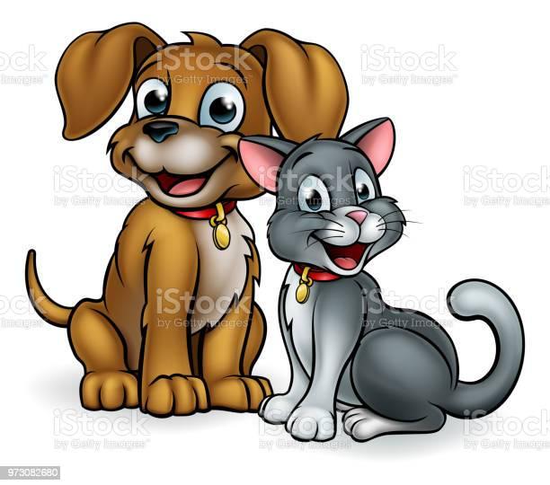 Cartoon cat and dog pets vector id973082680?b=1&k=6&m=973082680&s=612x612&h=pzwmk1kanv8fecdwd 8x 2ratc0 zuiv lijihgbkci=