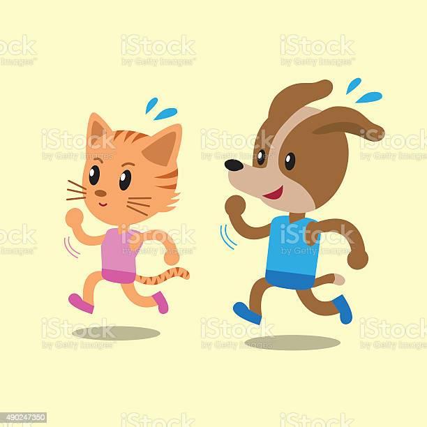 Cartoon cat and dog running vector id490247350?b=1&k=6&m=490247350&s=612x612&h=uc8xihsajznuk dawuepv9wpuvw7f0kbstqj9dptnee=