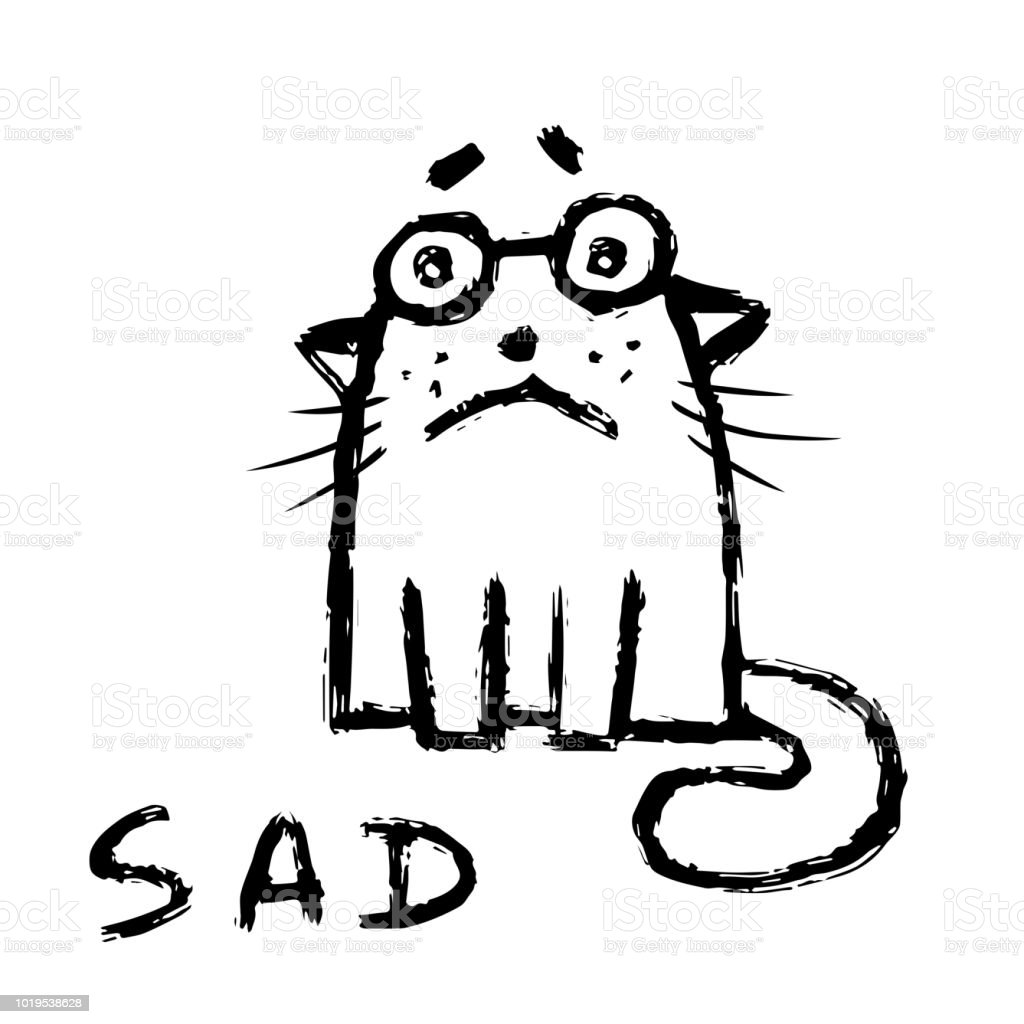 A Sad Day Clip Art
