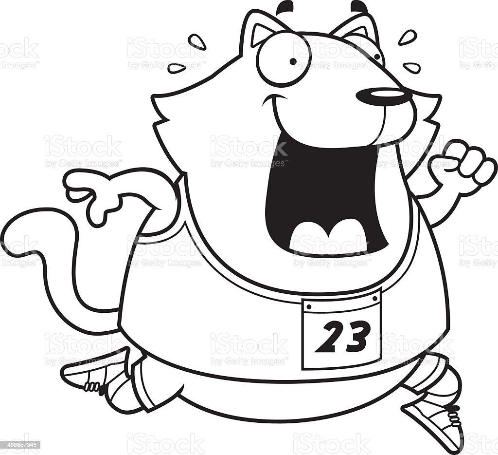 カットイラスト猫走るレース - 2015年のベクターアート素材や画像を多数