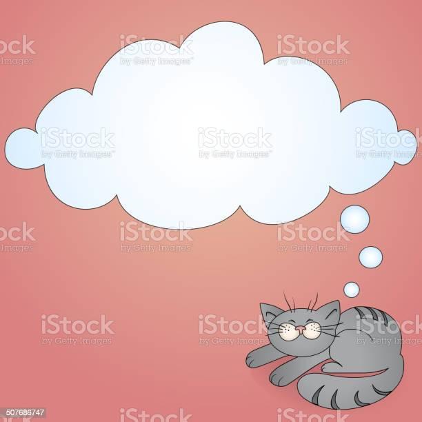 Cartoon cat with a thought bubble vector id507686747?b=1&k=6&m=507686747&s=612x612&h=tt rsqzx 8of1s8rrugjtjtzufifoayp yxoxrcqzae=