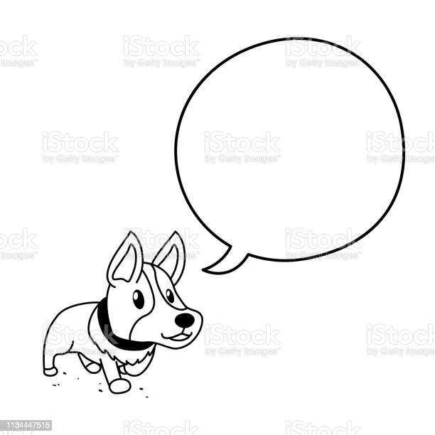 Cartoon character cute corgi with speech bubble vector id1134447515?b=1&k=6&m=1134447515&s=612x612&h= 0e7csmjcnine9h497nzrlks9pymbrx fnvxwpnjkhw=