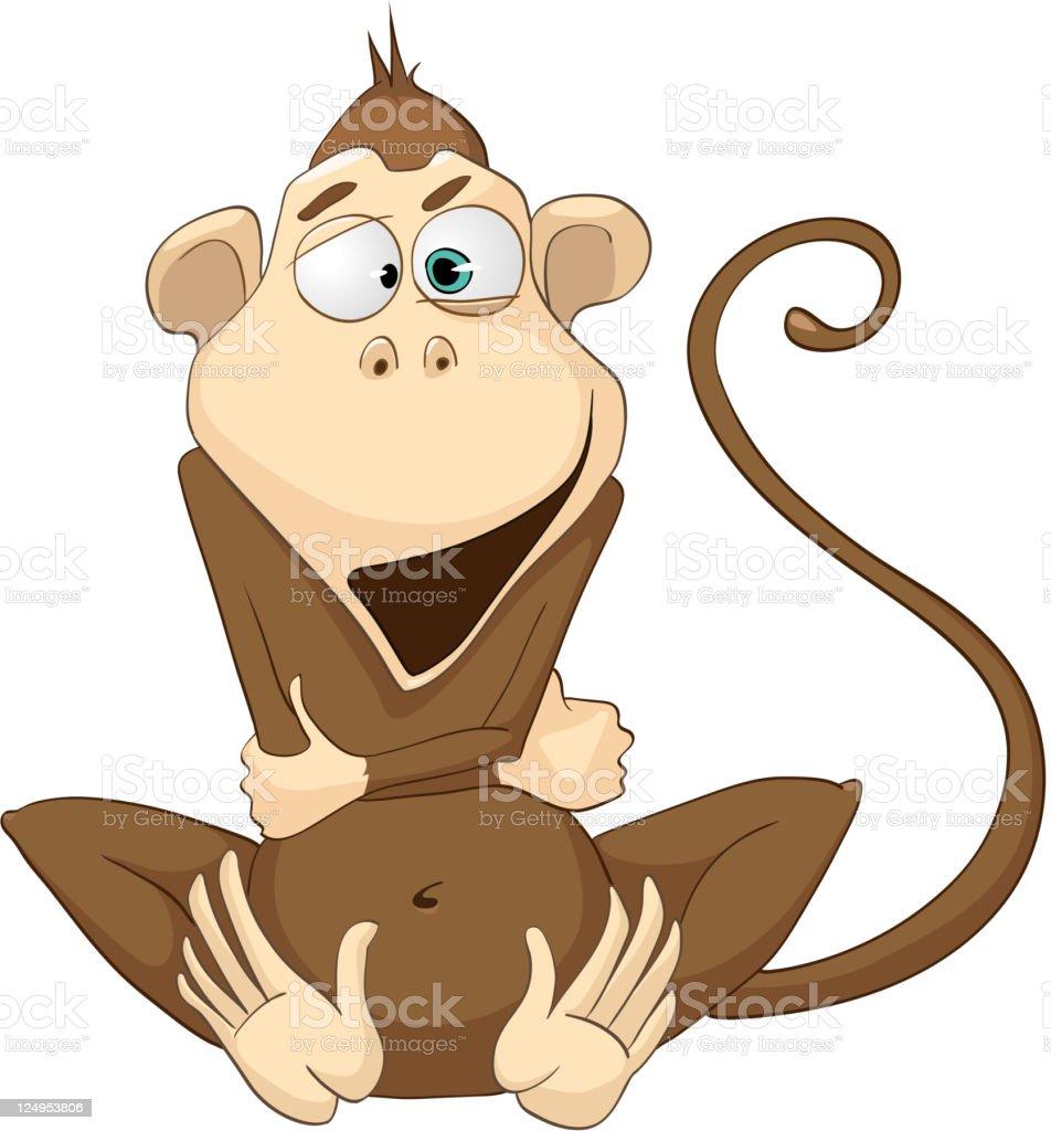 Cartoon Character Monkey royalty-free cartoon character monkey stock vector art & more images of animal