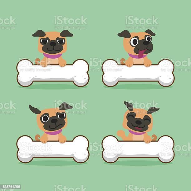 Cartoon character pug dog with big bones vector id638764296?b=1&k=6&m=638764296&s=612x612&h=n6eefghs2vpwu4fcbabqkbdalbtynle4tudcnq8zbjy=