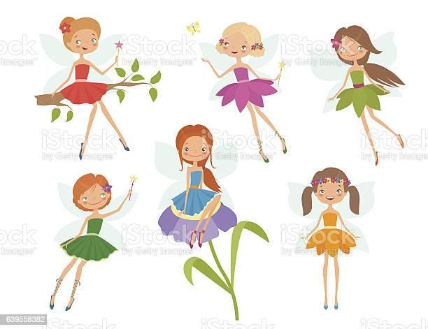Cartoon character set of cute little fairies vector id639558382?b=1&k=6&m=639558382&s=612x612&h=21buvhs nlymxkcb4ayjvifbwvtv8b i8bxseb i ii=
