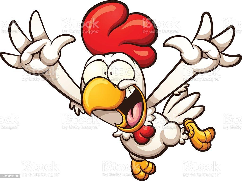 Cartoon Chicken Stock Vector Art & More Images of Cartoon ...