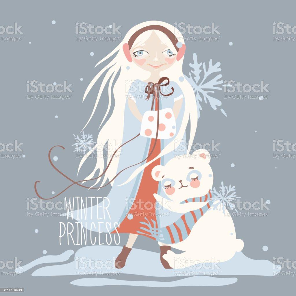 Vetores De Desenho Animado Ilustracao Infantil Da Princesa Do